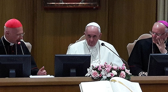 Discorso del Santo Padre alla 70a assemblea generale della CEI