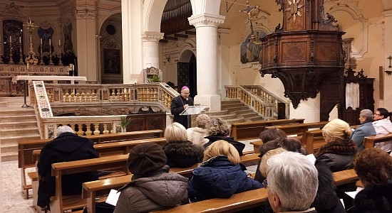 Lectio Divina del Vescovo - Quaresima 2015