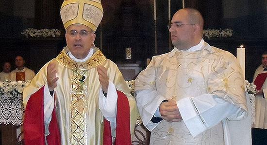 Lorenzo Conti è stato ordinato diacono