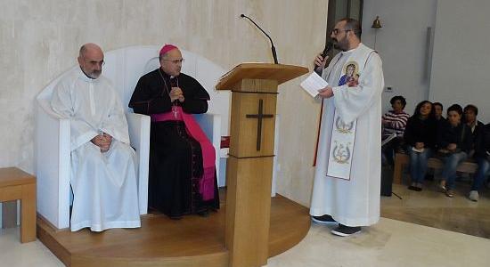 Iniziata la Visita Pastorale nella parrocchia di S. Giovanni da Capestrano