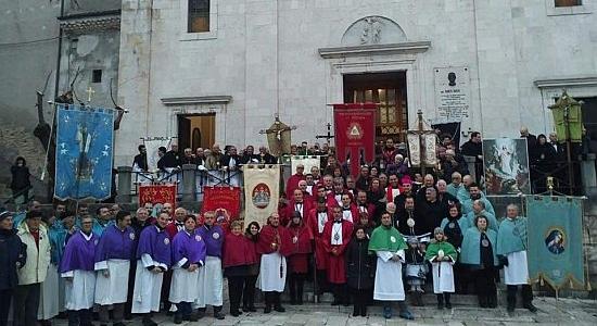 Via Crucis Diocesana, nel cammino Quaresimale delle Confraternite