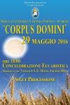 Carpus Domini 2016