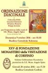 Diaconato Permanente e XXV Monastero di Corfinio