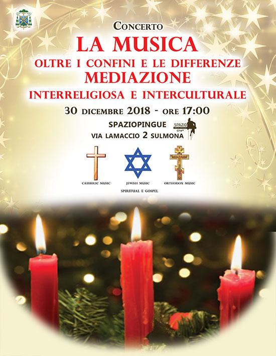 La Musica oltre i confini e le differenze – dicembre 2018