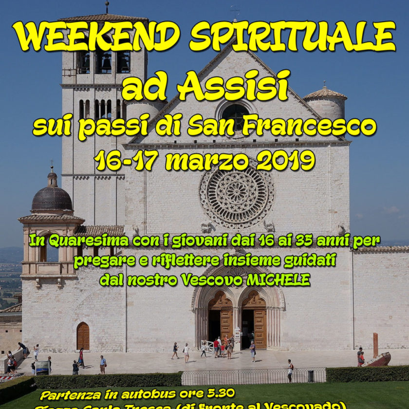 Weekend Spirituale ad Assisi