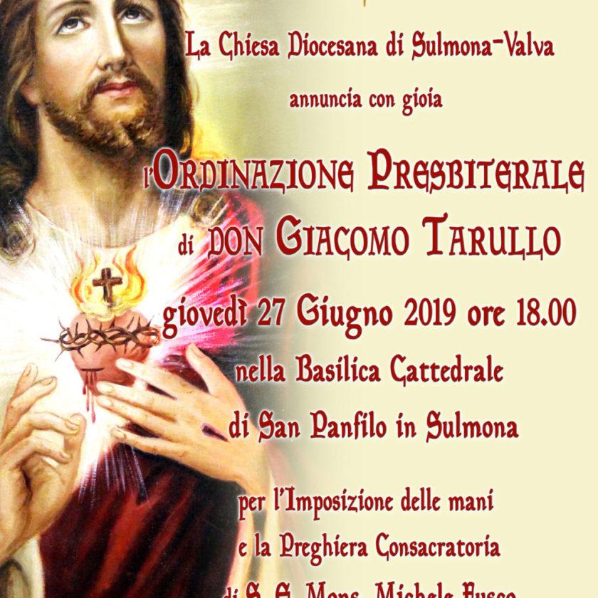 Ordinazione Presbiterale di Don Giacomo Tarullo