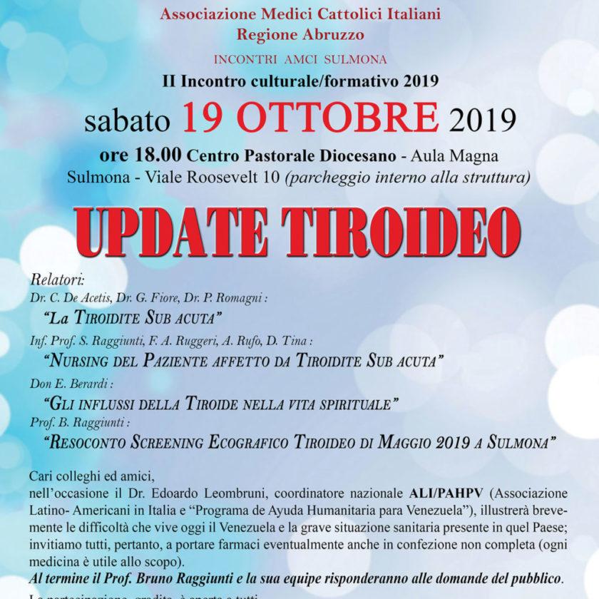 Update Tiroideo
