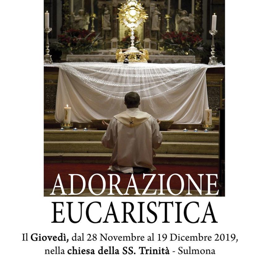 Adorazione Eucaristica con il Vescovo Michele