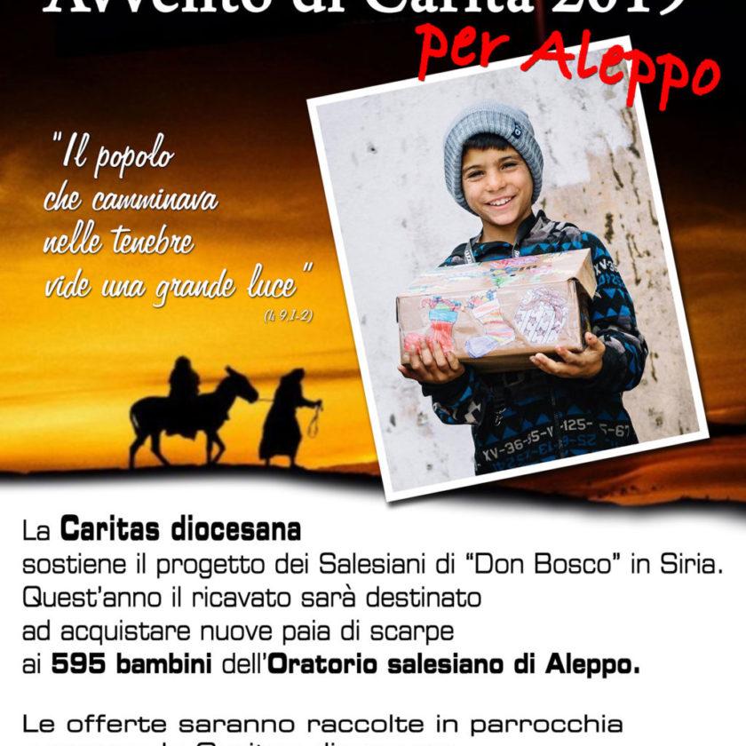 Caritas: Avvento di Carità per Aleppo