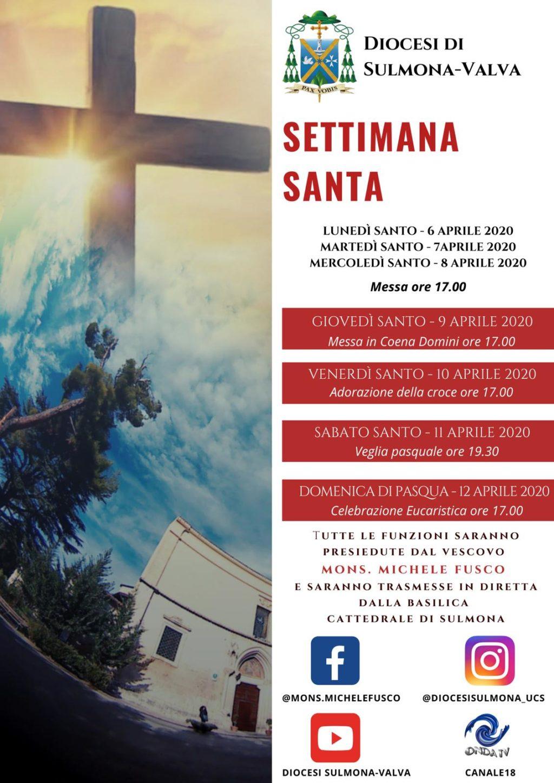 Sante Messe della Settimana Santa
