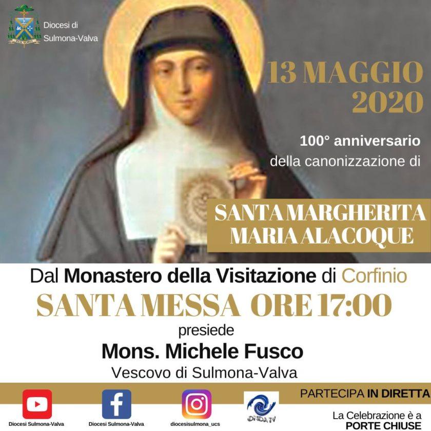 100° anniversario della canonizzazione di S. Margherita Maria Alacoque – Corfinio