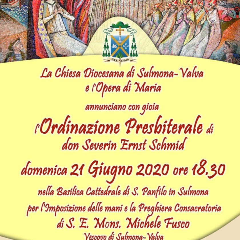 Ordinazione Presbiterale di don Severin