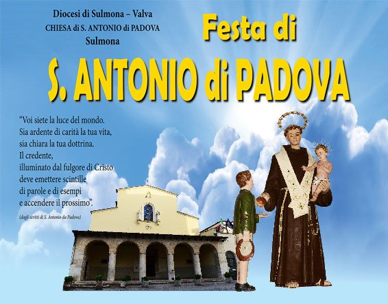 Festa di Sant'Antonio di Padova – Sulmona
