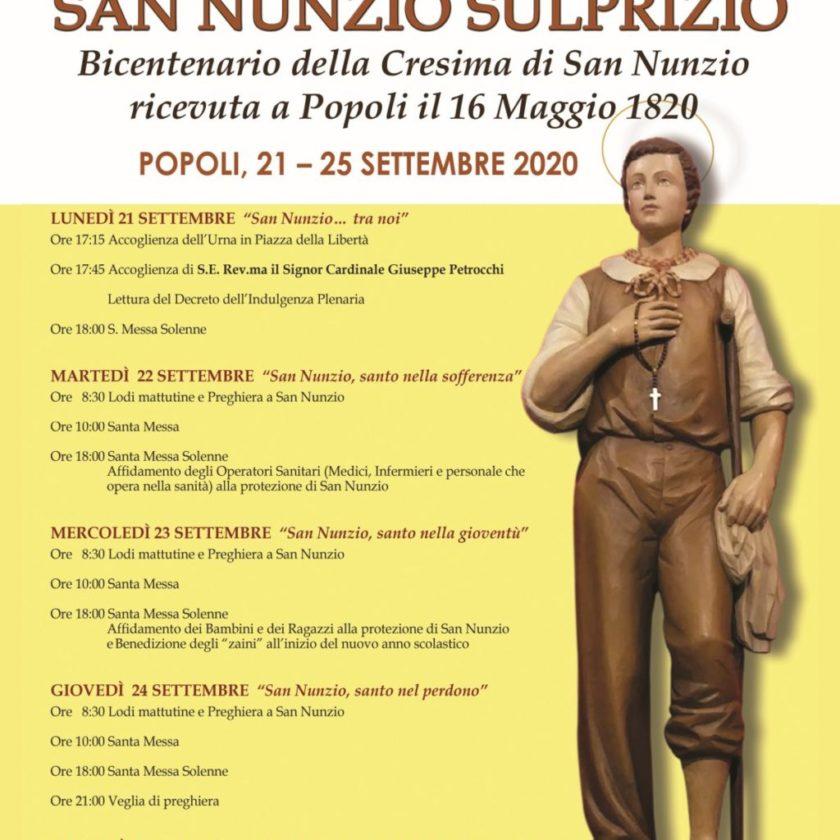 San Nunzio Sulprizio – Popoli
