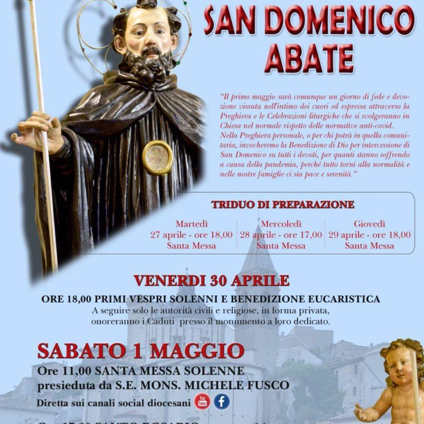 Festa di San Domenico Abate a Cocullo
