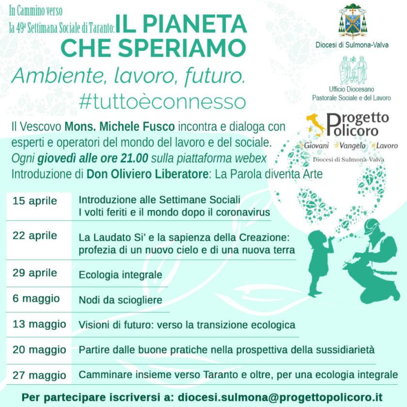 Il Pianeta che speriamo: ambiente, lavoro, futuro