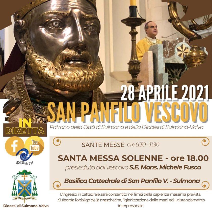 San Panfilo Vescovo, patrono della Città e della Diocesi