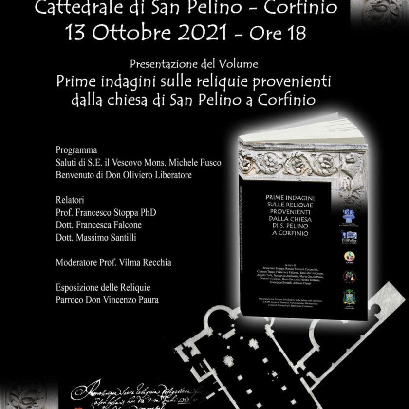 Prime indagini sulle reliquie provenienti dalla chiesa di San Pelino a Corfinio